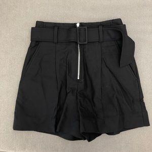 Sandro NWOT Belted Shorts